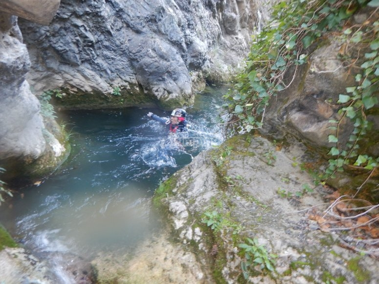 Barranco acuatico de Jorox