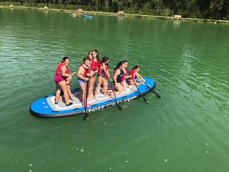 Paddle surf para familia