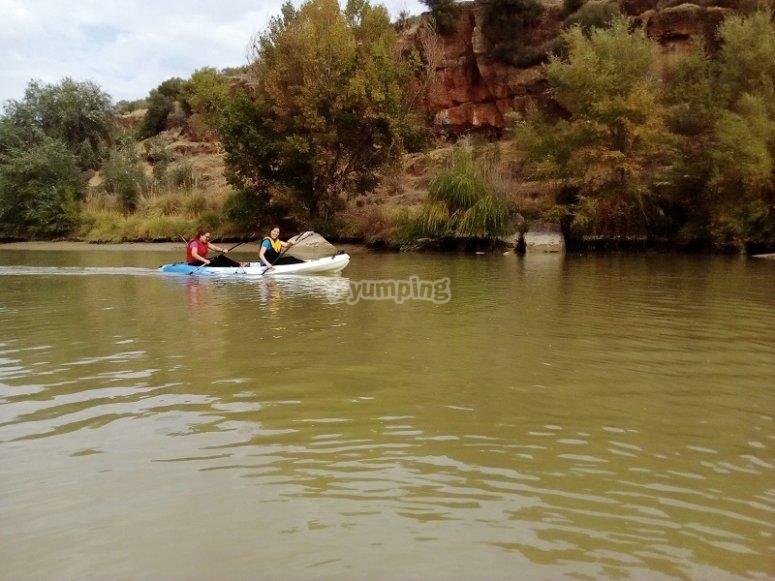 Paseo en aguas tranquilas