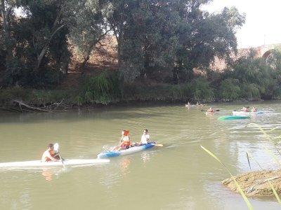 Paseo en piragua Guadalquivir aguas tranquilas 2h