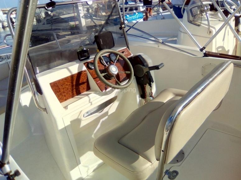 Mandos del barco