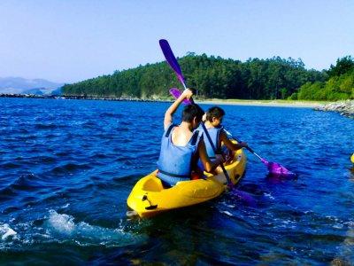 Kayak para 2 en el río Guadiana
