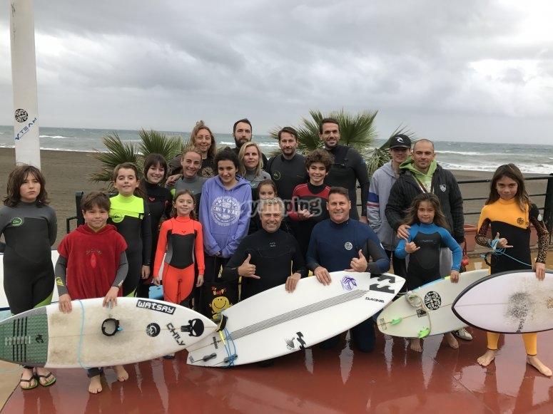 kids surf