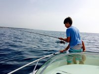 Pesca al calamaro per bambini 2 ore a Tarragona
