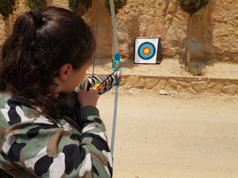 Disparando flechas