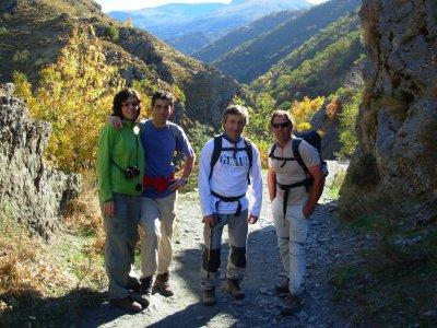 在Vereda de la Estrella徒步旅行路线5-6 h