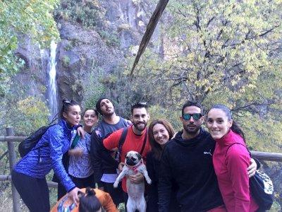 在Los Cahorros de Monachil徒步旅行3或4小时
