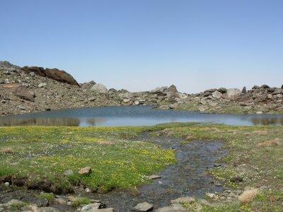 徒步高山Laguna de las Yeguas 3小时