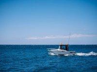 在公海钓鱼的日子