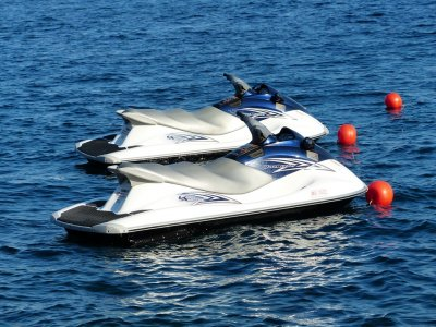 Ruta moto de agua biplaza en Formentera 1 hora