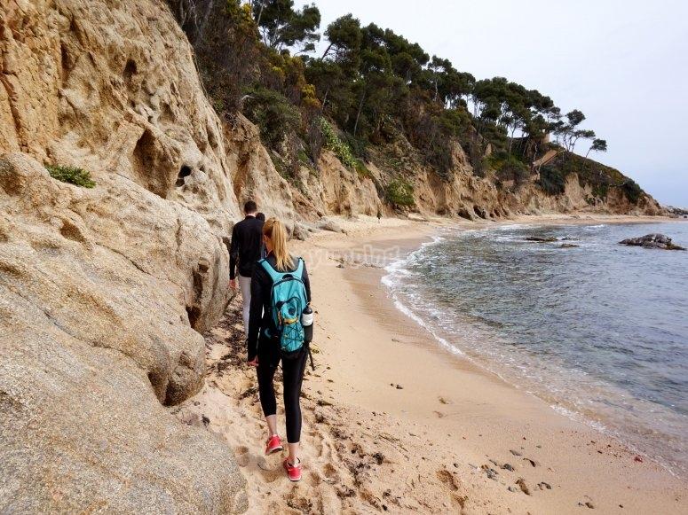 Paseando por la costa