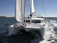 Veloces catamaranes