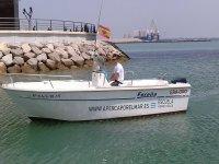 Pescar en la bahia gaditana
