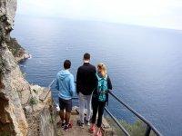 vistas al mar en el acantilado