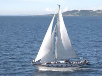 Barca a vela a Valencia