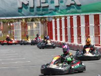 Competing with the karts