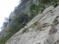 rappel y escalada