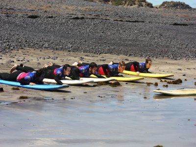 Lezioni di surf a Famara Beach 5 ore