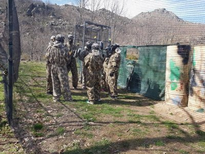 Paintball Match w. 100 Balls in Béjar