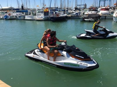 Two-Seater Jet Ski Santa María Port, 90m