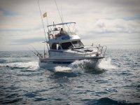 Navegando en barco de pesca en La Manga