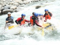 Practice rafting with friends
