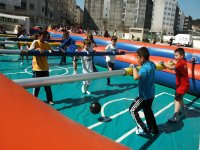 Human Table Football in El Valle, 30 Minutes