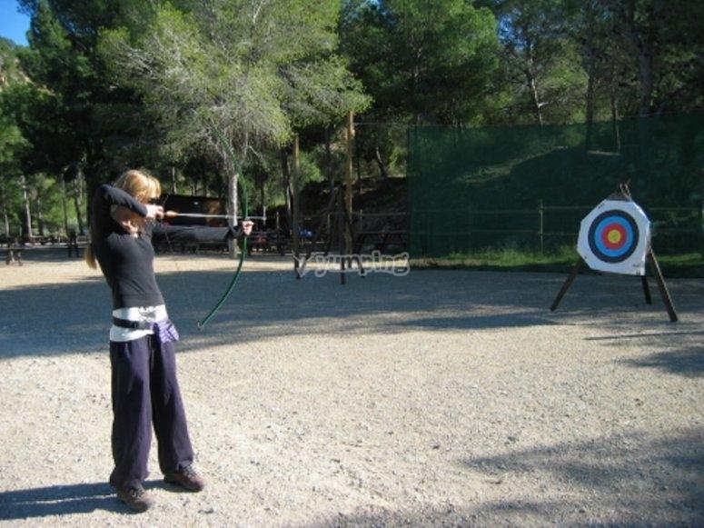 15 minutos de tiro con arco