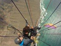 Gran vuelo en parapente playa de Famara 45 minutos