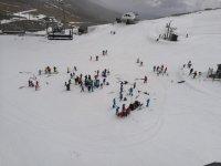 la estacion de esqui