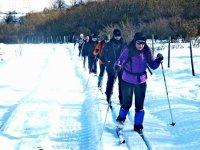 ruta de esqui