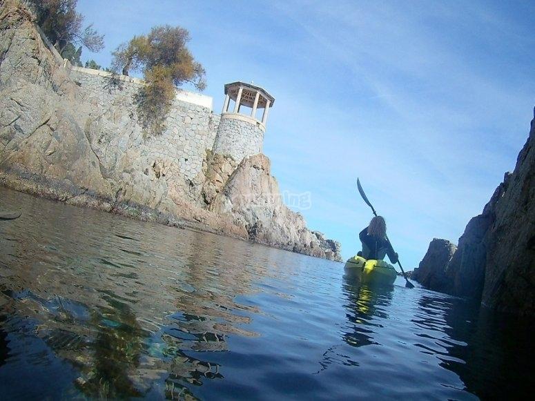 皮划艇和浮潜