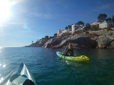 Kayak & Snorkel tour in Costa Brava 2h 30m