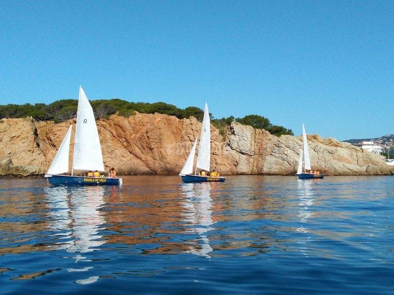 赫罗纳(Girona)的帆船