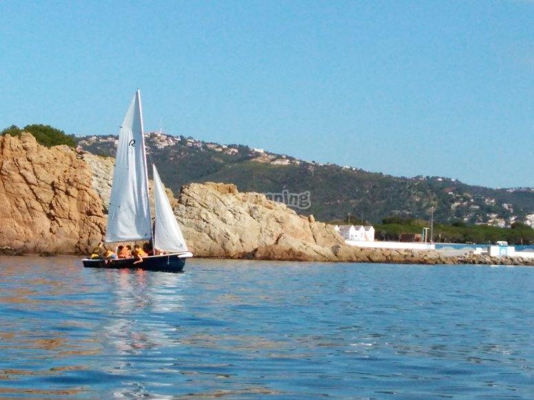 布拉瓦海岸(Ranquero)乘坐帆船