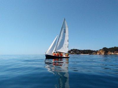 Paseo en velero, playa de Aro y S´Agaró 1hora