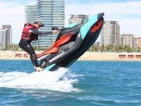 Aventura máxima en moto de agua