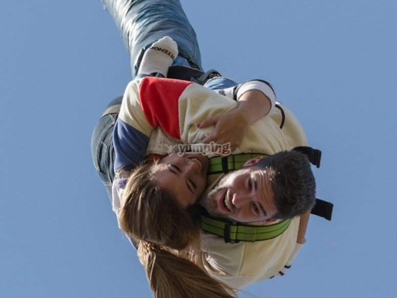 Bungee jump experience