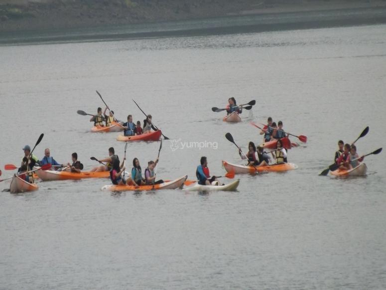 Ruta en canoa en Astillero