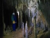 Espeleologia en cueva de la Bota