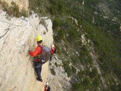 Vía Ferrata de Xorret de Catí 3 horas nivel K2