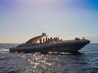 我们的游艇上的特别庆祝活动