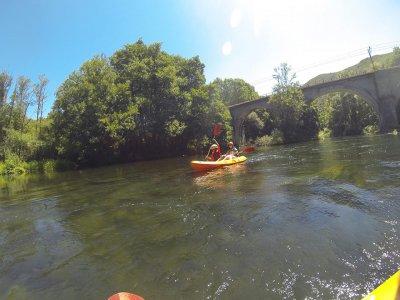 Excursión en kayak en el Bierzo río Sil 3 horas