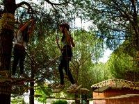 Circuito del parque de aventuras