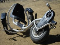 Triciclo vacio