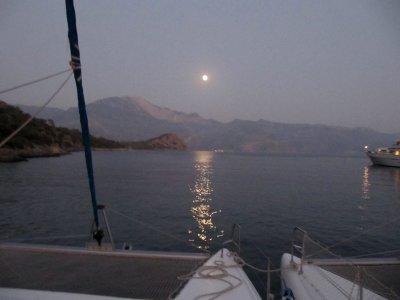 Paseo en Barco Nocturno Privado en Marina Sada 5h