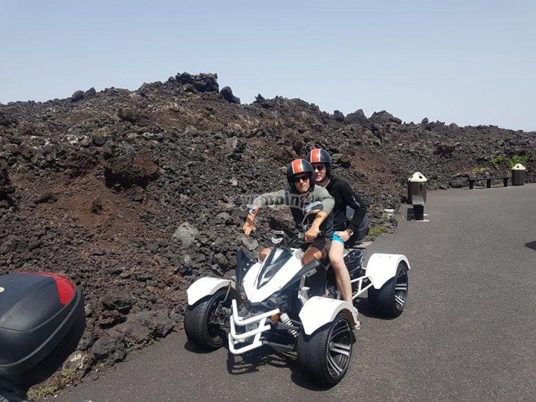 quad volcan
