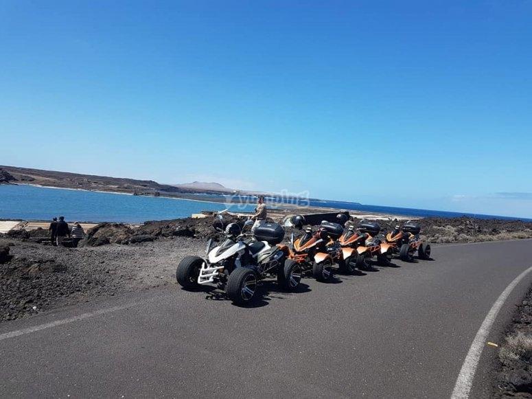 quads y playa