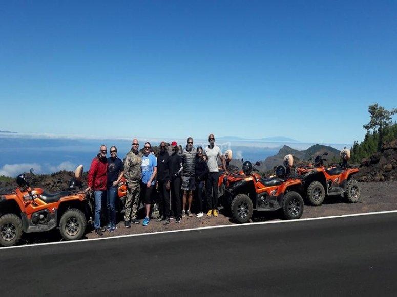 Grupo de nuestro forest tour