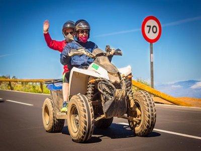 Excursión en quad en Arona y Escalona Tenerife 3h